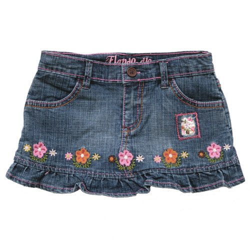 FLAPDOODLES DENIM SKIRT 3T - FREE USA + CAN SHIPPING