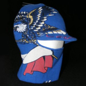 ED HARDY SNOW FRANCE BY CHRISTIAN AUDIGIER CONVERTIBLE FACE MASK VISOR CAP OS - FREE SHIPPING