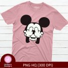 Mickey D3 Disney Toon Tee Shirt Design Graphic Instant Download Transfer
