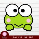 Sanrio Keroppi D1 Graphic Digital Instant Download Cricut Silhouette Shirt Sticker SVG PNG DXF EPS