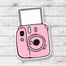 Retro Camera Design 2 Digital Printable Instant Download Graphic Sticker Mug Shirt Instax Aesthetic
