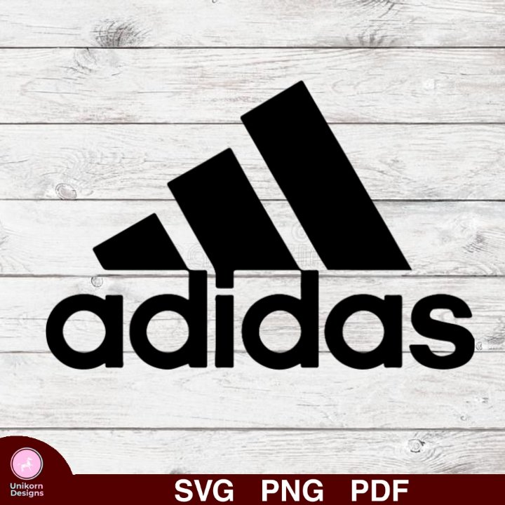 Adidas Design 3 SVG PNG Silhouette Cut Files Cricut Vector Graphic Clipart Instant Download