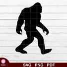Bigfoot Yeti Design 1 SVG PNG Silhouette Cut Files Cricut Vector Graphic Clipart Instant Download