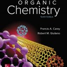 Organic Chemistry 10th Edition 10e by Carey, Giuliano 978-0073511214