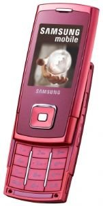 Samsung E900 Pink Unlocked Tri Band Gsm Cell Phone