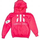 Kumfee Kush (TM) Hoodies In Pink (Youth Large)
