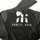 Kumfee Kush (TM) Hoodies In Gray (Adult Large)