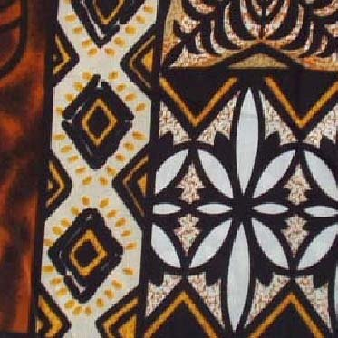 Brown Tribal Tapa Print Hawaiian Aloha Shirt