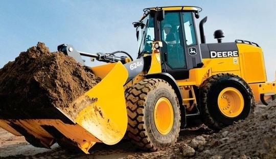 PDF John Deere 624K 4WD Wheel Loader Operation & Test Service Manual TM13210X19