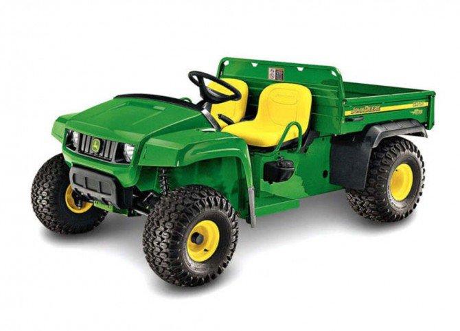 PDF John Deere 4x2 6x4 Gas and Diesel Gator Utility Vehicle Parts Catalog Manual PC2387