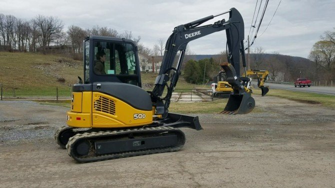 Download John Deere 35d  50d Excavator Service Repair
