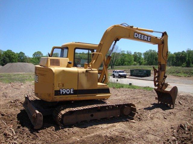PDF John Deere 190E Excavator Diagnostic, Operation and Test Manual TM1539