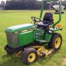 PDF John Deere 655, 755, 855, 955, 756 and 856 Compact Utility Tractor Service Repair Manual TM1360