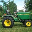 PDF John Deere 670, 770, 790, 870, 970, 1070 Compact Utility Tractor Technical Service Manual TM1470