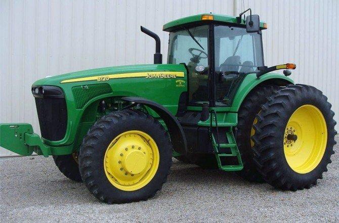 PDF John Deere 8120, 8220, 8320, 8420, and 8520 tractor diagnostics and Test Manual TM1980
