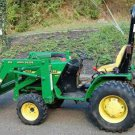 Download John Deere 4100 Compact Utility Tractors Work Shop Service Tm1630