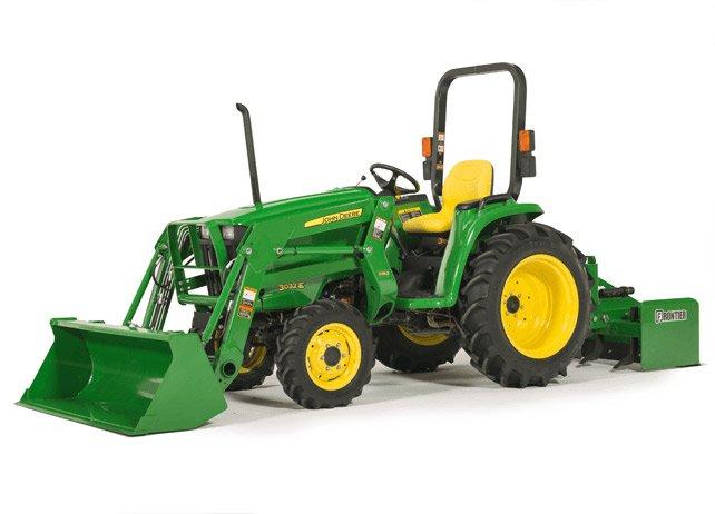 PDF John Deere 3032E, 3036E and 3038E Tractors Service Repair, Test and Adjustments Manual TM100619