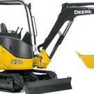 PDF John Deere 27D Compact Excavator Diagnostic, Operation and Test Manual (TM2355)