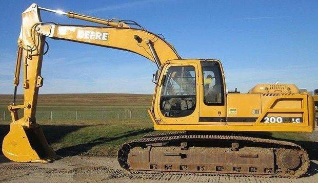 Download John Deere 200LC Excavator Service Repair Manual (TM1664)