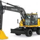 PDF John Deere 190GW Wheeled Excavator Diagnostic, Operation and Test (TM13247X19)