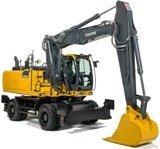 PDF John Deere 230GW Wheeled Excavator Service Repair Manual (TM13250X19)