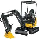 PDF John Deere 17G Compact Excavator Diagnistic and Test Service Manual (TM13325X19)
