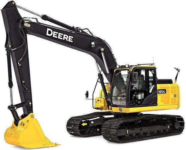 PDF John Deere 180GLC Excavator Diagnostic, Operation and Test Manual (TM13346X19)