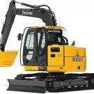 PDF John Deere 75G (FT4) Compact Excavator Service Repair Technical Manual (TM12876)