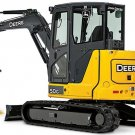 PDF John Deere 50G Compact Excavator Diagnostic, Operation & Test Service Manual (TM12885)