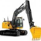 PDF John Deere 160GLC (PIN: 1FF160GX__D055001) Excavator Service Repair Manual (TM12551)