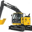 John Deere 135G (iT4) Excavator Diagnostic, Operation and Test Service Manual (TM12666)