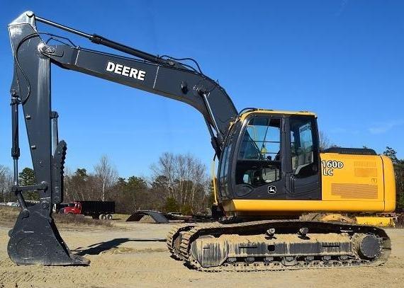 Download John Deere 160DLC Excavator Service Repair Manual (TM10091)
