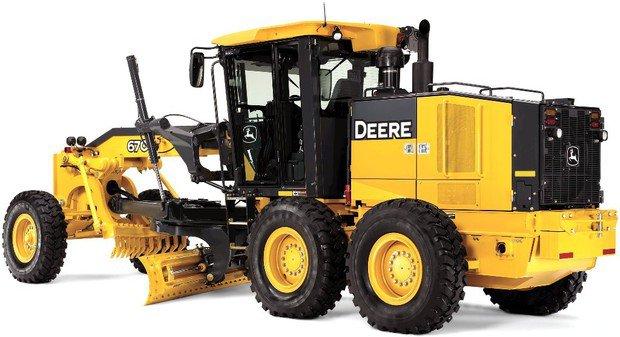 PDF John Deere 670G, 670GP, 672G, 672GP Motor Grader Service Repair Technical Manual (TM11205)