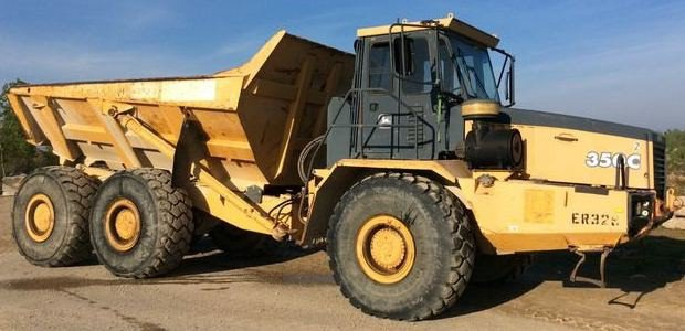 PDF John Deere 350C and 400C Articulated Dump Truck Operation & Test Service Manual (TM1789)