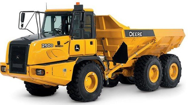 PDF John Deere 250D, 300D Articulated Dump Truck Service Repair Manual (TM1161)