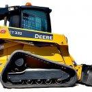 PDF John  Deere 332 Skid Steer Loader, CT332 Compact Loader Service Repair Technical Manual TM2212