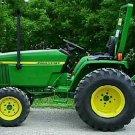 PDF John Deere 790 Compact Utility Tractors Technical Service Manual (TM2088)
