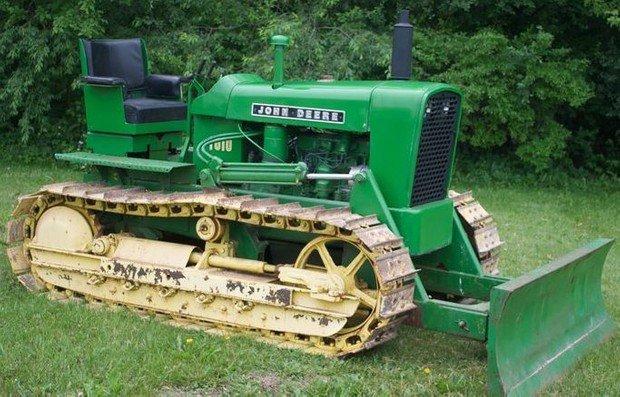 PDF John Deere 1010 Crawler Tractors Technical Service Manual (SM2034)