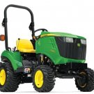 PDF John Deere 1023E & 1026R Worldwide Compact Utility Tractors Technical Manual (TM109719)