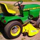 PDF John Deere Hydrostatic Tractor Type 317 Technical Service Manual (TM1208)