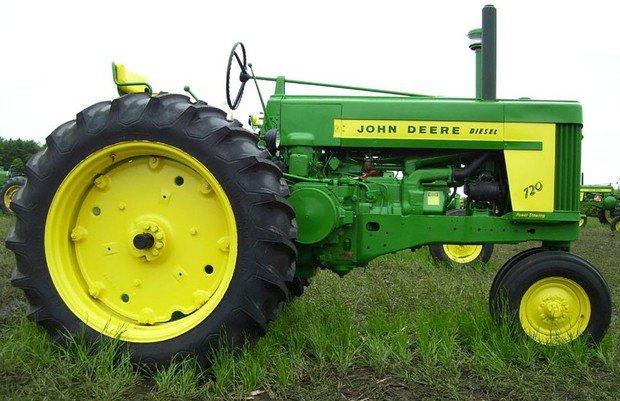 PDF John Deere 70, 720 & 730 (Gas) Tractor Technical Service Manual (SM2025)