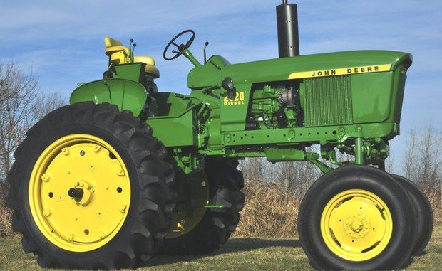 PDF John Deere 2520 Row Crop and Hi-Crop Tractors Technical Service Manual (TM1004)