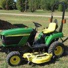PDF John Deere 2210 Compact Utility Tractors (SN. 110001-) Technical Service Manual (TM2074)