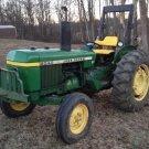 PDF John Deere 2040, 2240 Tractors Technical Service Manual (TM1221)