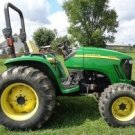PDF John Deere 4120, 4320 Compact Utility Tractor W/O Cab Technical Service Manual (TM105019)