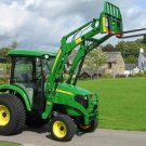 PDF John Deere 4520, 4720 Compact Utility Tractors With Cab Technical Service Manual (TM105419)