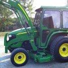PDF John Deere 4120,4320,4520,4720 Compact Utility Tractors w.Cab Technical Manual (TM2370)