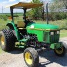 PDF John Deere Tractors 5200, 5300, 5400 and 5500 Diagnostic, Repair Technical Manual (TM1520)