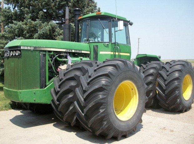 PDF John Deere 8850 4WD Articulated Tractors Technical Manual (TM1254)