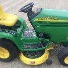 PDF John Deere LX280, LX280AWS, LX289 Lawn Tractor Technical Service Manual (TM2046)